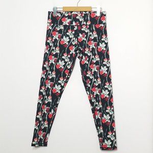 Minkpink Move | 7/8 Floral Activewear Tights M